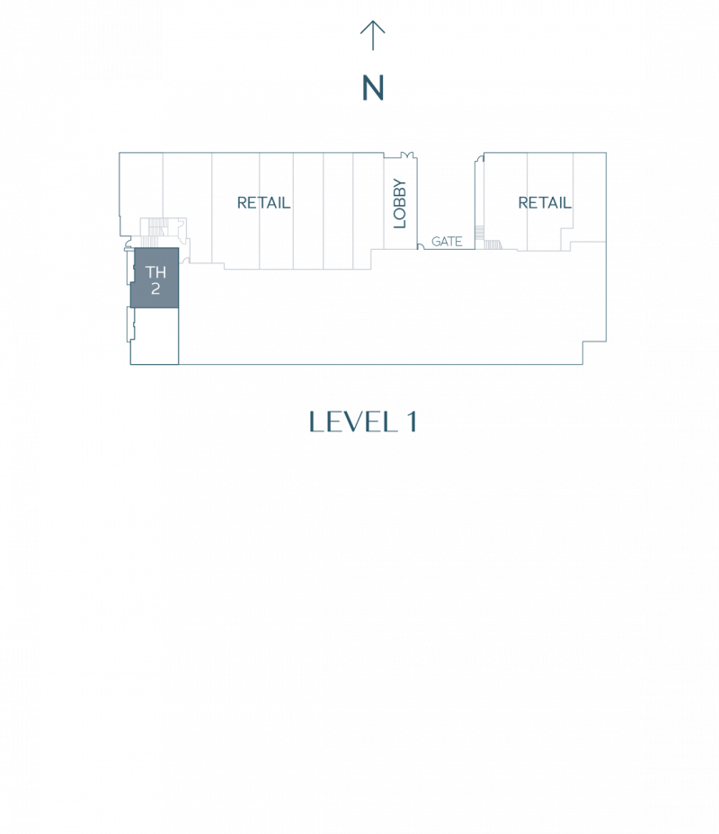 Plan Townhouse 2
